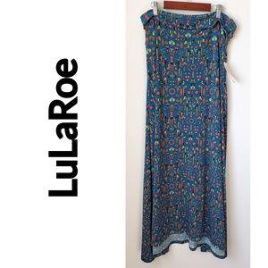 LuLaRoe Skirt, Size XL Beautiful colors